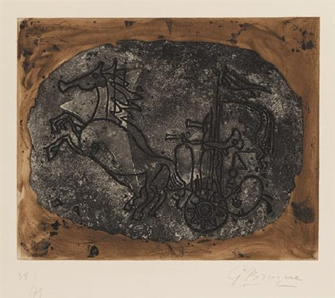 char noir char v by georges braque