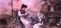 the flower girl by s. de stefano