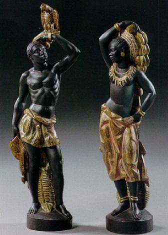standing negro figure by rafael garcia