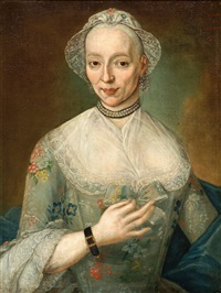 portrait of a lady by andries warmoes