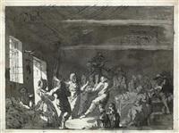 scène de cabaret by jacques-albert senave