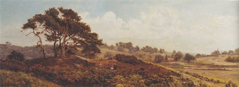 on reigate heath by edward henry holder