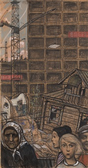advance of the big city by ilya glazunov