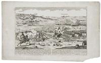 the battle of germantown by johann martin will