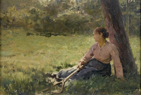 A lombre by Louis Emile Adan on artnet