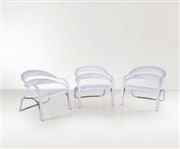 tre sedie fettuccini w by vladimir kagan