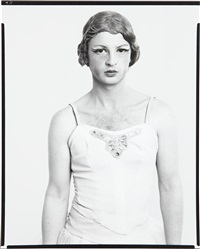 john martin, dancer, new york city, march 20 by richard avedon