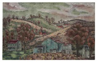 pennsylvania landscape by george biddle