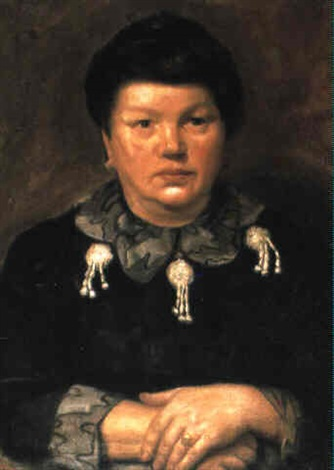 The artists mother by Mark Gertler on artnet