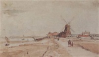 windmill by william gawin herdman