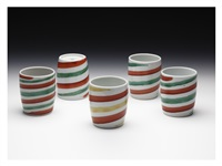 tea cup (5 set) by kitaoji rosanjin