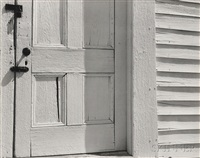 church door, hornitos by edward weston