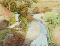 eltham landscape by harold brocklebank herbert