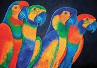 papagalia iv by cláudio tozzi