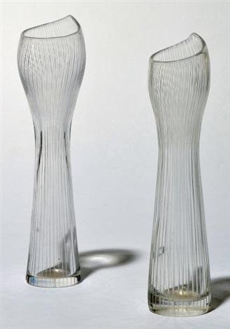 paire de vases modèle 3551 by tapio wirkkala