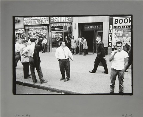 from the bus new york by robert frank