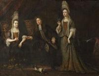 portrait de famille ou la prisée du tabac by daniel haringh