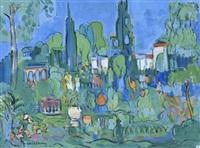 jardin en provence by maurice aubret