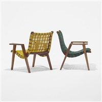 armchairs model 41 (pair) by ralph rapson