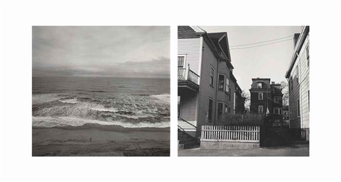 cape cod and untitled (2 works) by harry callahan