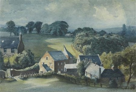 mill near brechin by james mcintosh patrick