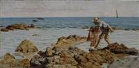 pescatore di rezzaglio by angiolo tommasi