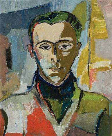 portrait of the artists husband by judyta sobel