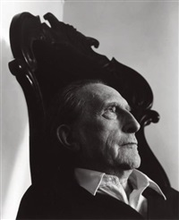 marcel duchamp, new york city by arnold newman