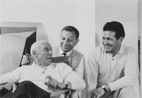 roger pic pablo picasso and charles feld mougins 3 works by roger pic
