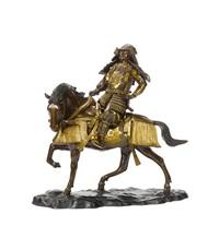 warrior on horseback by yoshimitsu