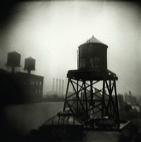 watertower brooklyn by michael ackerman