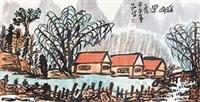 溪山深秀(一) by jiang guohua