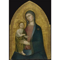 madonna and child by taddeo di bartolo