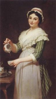tea time by pierre francois bouchard