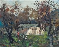 casa nel bosco by ezelino briante