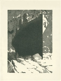 the night of the loveless nights (bk by robert desnos w/3 works) by georges malkine