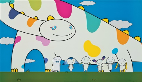 yoshiko and the creatures from planet 66 by takashi murakami