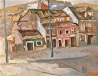 vue de village by mané-katz