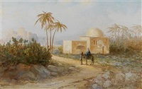 rachel's tomb, bethleham by samuel lawson booth