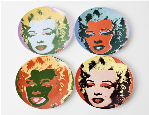 marilyn 4 works by andy warhol