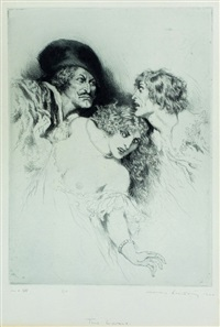two lovers by norman alfred williams lindsay