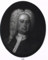 portrait of a gentleman by john smibert