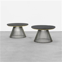occasional tables, pair by paul evans and phillip lloyd powell