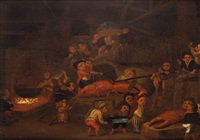 nani che cucinano un gambero by enrico albricci
