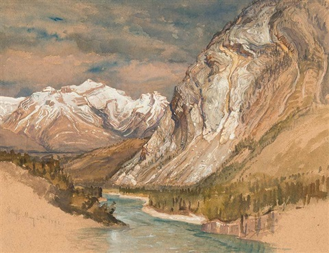 banff by samuel colman