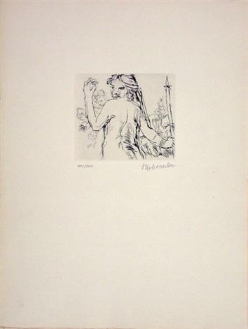 penthesilea portfolio of 10 by oskar kokoschka