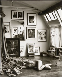 atelier réaumur. linda with head covered. by mark arbeit