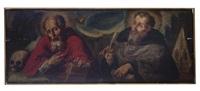 los padres de la iglesia (2 works) by baltasar de echave ibia