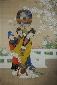 empress with two attendants by anonymous-korean (19)