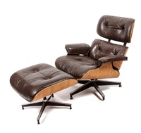 A 670 Lounge Chair And 671 Ottoman. Charles And Ray Eames